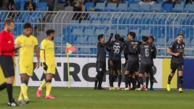 السد يخطف نقطة من ملعب النصر في دوري أبطال آسيا (صور: AFC Twitter)