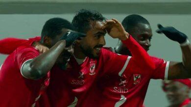 صورة أهداف مباراة الأهلي والمصري البورسعيدي في الدوري المصري