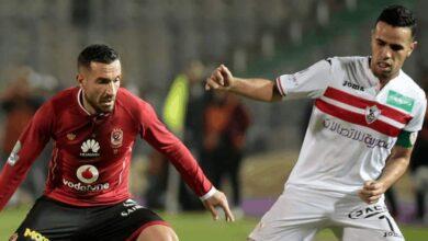 حازم إمام علي معلول في مباراة الأهلي الزمالك (صور: Getty)
