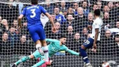 هدف ماركوس ألونسو- مباراة تشيلسي وتوتنهام فى الدوري الانجليزي على ملعب ستامفورد بريدج (صور:Getty)