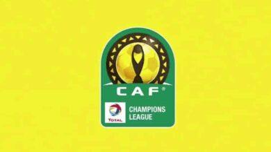 شعار دوري أبطال أفريقيا (صور: TV)