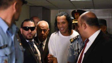 اعتقال رونالدينيو