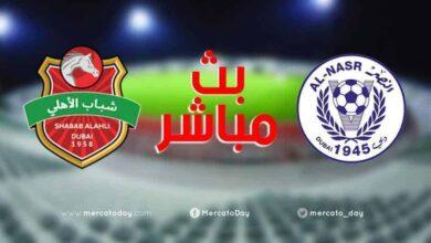 صورة بث مباشر | مشاهدة مباراة أهلي دبي والنصر في الدوري الإمارتي