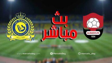 صورة بث مباشر | مشاهدة مباراة النصر والرائد في الدوري السعودي