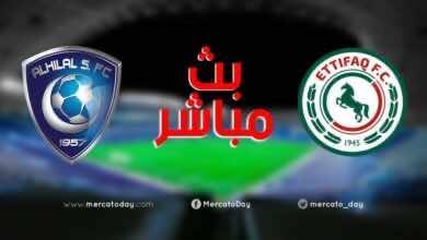 صورة بث مباشر | مشاهدة مباراة الهلال والاتفاق في الدوري السعودي