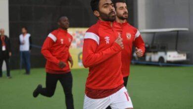 حسين الشحات لاعب الأهلي (صورة: Alahlysc)