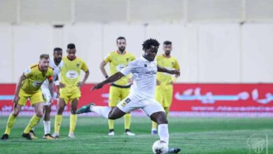 صورة أهداف مباراة الاتحاد والحزم فى الدوري السعودي