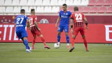 صورة أهداف مباراة الفجيرة والشارقة في الدوري الإماراتي