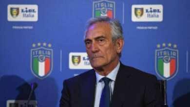 صورة جابرييل جرافينا رئيس الاتحاد الإيطالي يعلن موعد عودة الكالتشيو