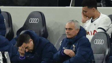 جوزيه مورينيو يودع كأس الاتحاد الانجليزي 2020 (صور: Getty)
