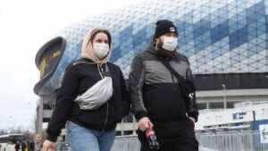 تأثير فيروس كورونا على شوارع موسكو بروسيا (صورة: themoscowtimes)