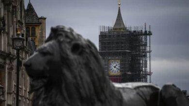 برج الملكة إليزابيث فى لندن (صور:Getty)