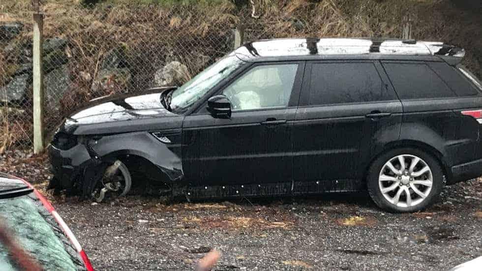 سيارة جون آرني ريسه (صورة: Twitter)