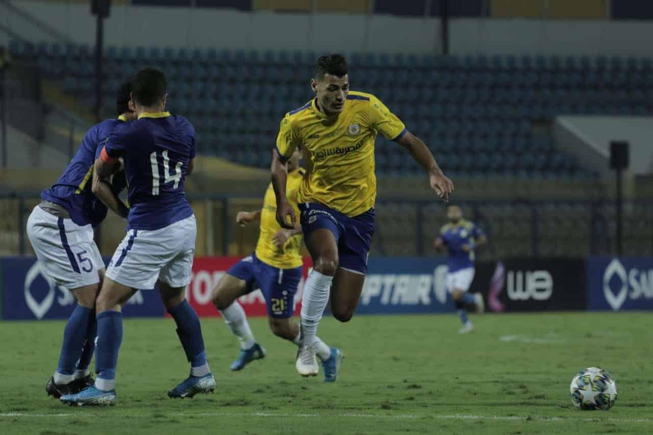 عبد الرحمن مجدي لاعب الإسماعيلي (صورة: Ismailylive)