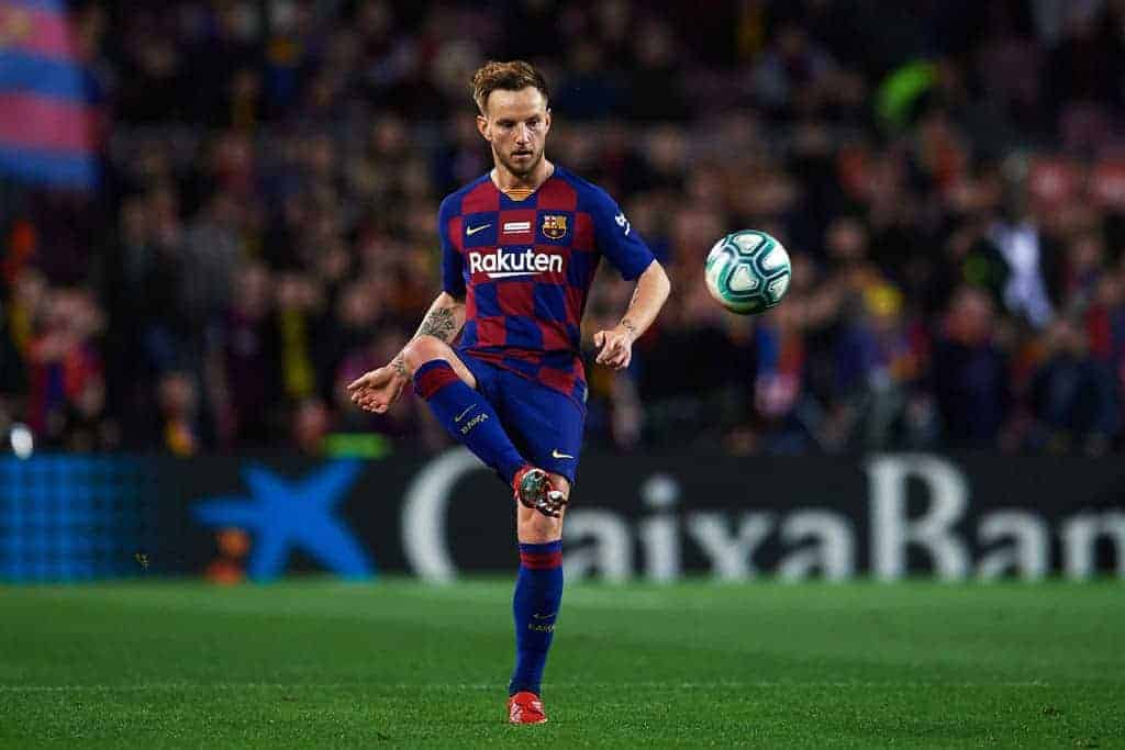 إيفان راكيتيتش لاعب فريق برشلونة (صورة: Zimbio)