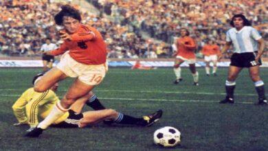 فيديو جميع أهداف يوهان كرويف مع منتخب هولندا