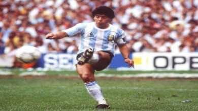 فيديو جميع أهداف دييجو أرماندو مارادونا مع منتخب الأرجنتين