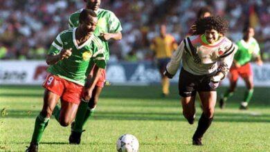 فيديو جميع أهداف روجيه ميلا مع منتخب الكاميرون