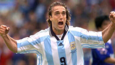 فيديو جميع أهداف جابرييل باتيستوتا مع منتخب الأرجنتين