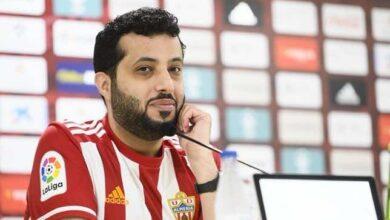 """صورة تركي آل الشيخ يرفع شعار """"التبذير في كرة القدم ماضي وراح"""""""