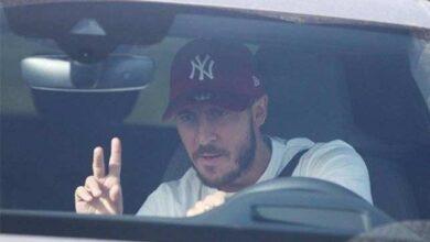 """صورة صورة """"طريفة"""" بين هازارد وزيدان توضح كيف عاد ريال مدريد بعد العزل"""