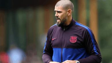 صورة جماهير برشلونة تتعجب من خطوة فيكتور فالديز غير المفهومة
