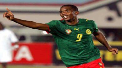 فيديو جميع أهداف صامويل إيتو مع منتخب الكاميرون