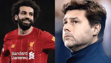 بوكيتينو يتجاهل محمد صلاح ويختار نجمًا آخر من ليفربول للأفضل في الدوري الإنجليزي