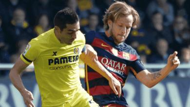 إيفان راكيتيتش وبرونو سوريانو في مباراة برشلونة وفياريال
