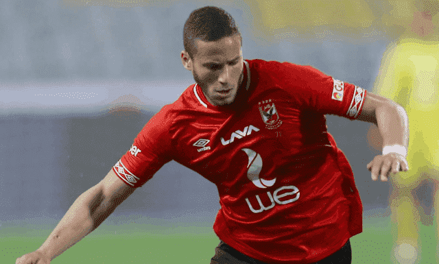 رمضان صبحي لاعب وسط الاهلي ومنتخب مصر