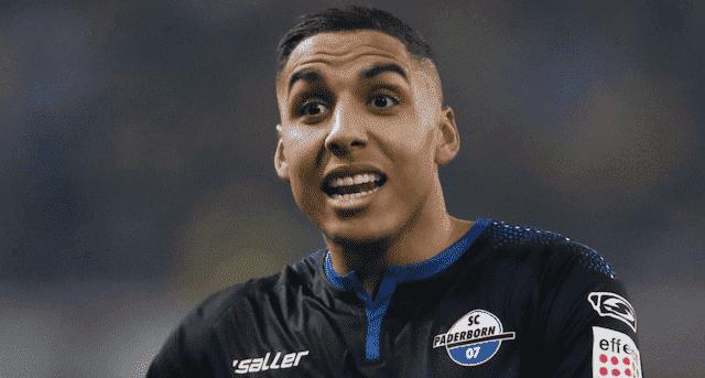 عبد الحميد صابري اللاعب المغربي الألماني في صفوف نادي بادربورن