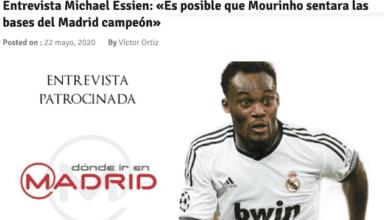 صورة إيسيان: مورينيو أسس ريال مدريد في دوري أبطال أوروبا