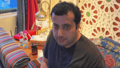 """صورة تركي آل الشيخ يعتدي على عضو الأهلي """"محمد سراج الدين"""""""