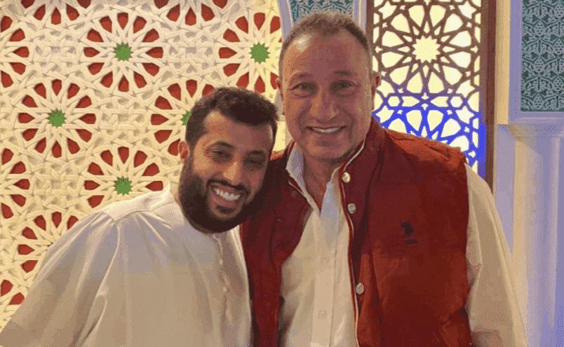 تركي آل الشيخ يتودد لرئيس الأهلي محمود الخطيب
