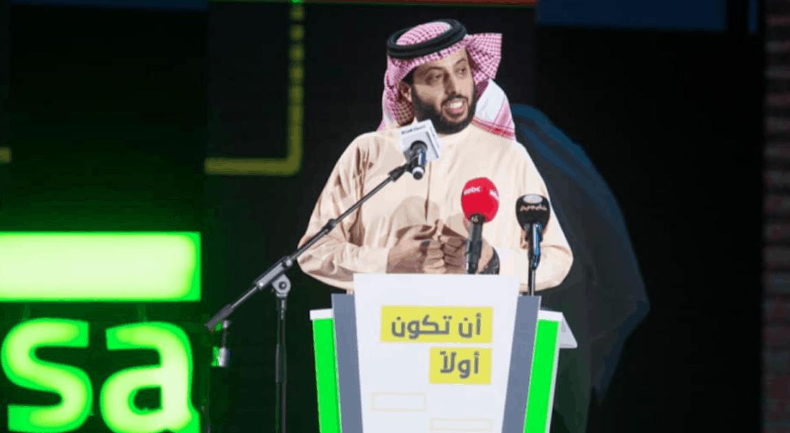 رئيس هيئة الترفيه السعودية تركي آل الشيخ