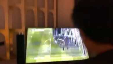 تركي آل الشيخ يعرض التلفزيون المكسور في مزاد علني