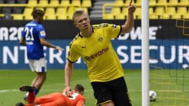 صورة شاهد | أهداف مباراة دورتموند وشالكه في الدوري الألماني