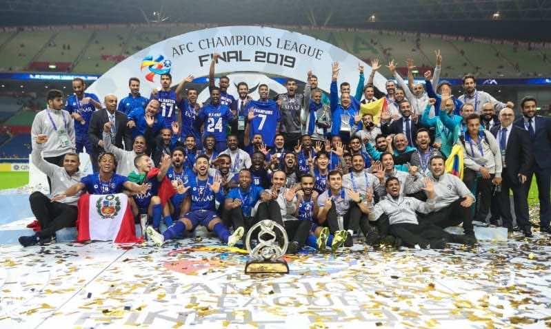 الهلال السعودي بطل دوري أبطال آسيا نسخة 2019 (صور:Google)