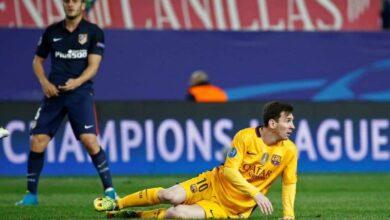 من هو معلق مباراة برشلونة وأتلتيكو مدريد في الدوري الاسباني؟