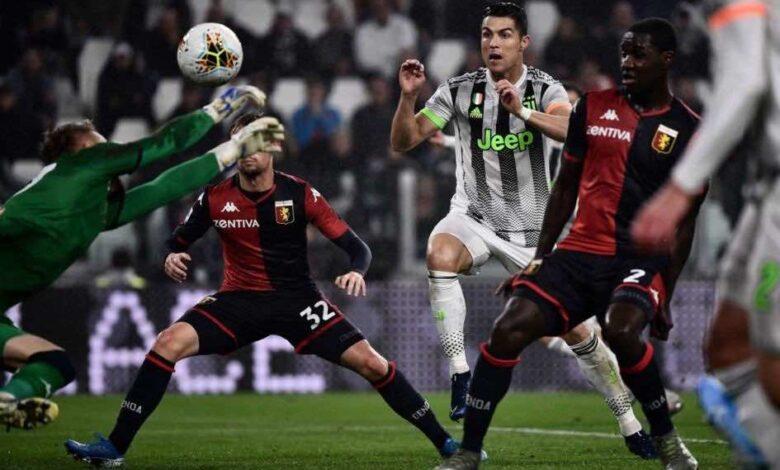 بي ان سبورت تختار معلق مباراة يوفنتوس وجنوى في الدوري الايطالي