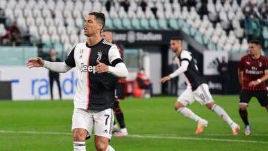 صورة رونالدو يُهدر..ويوفنتوس يعبر ميلان ليتأهل لنصف نهائي كأس إيطاليا