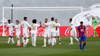 صورة ريال مدريد ينجح في اختبار إيبار ويواصل مطاردة برشلونة