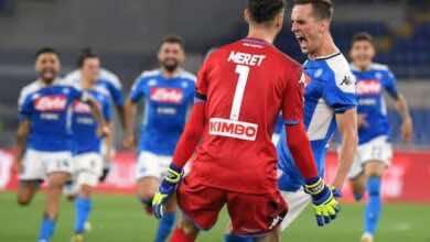 فيديو أهداف مباراة يوفنتوس ونابولي فى نهائي كأس إيطاليا