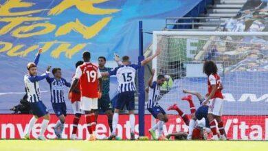 صورة الدوري الانجليزي: برايتون يكسر ظهر ارسنال في الدقيقة الأخيرة!
