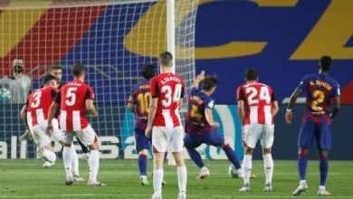 صورة أهداف مباراة برشلونة وأثلتيك بلباو فى الدوري الاسباني