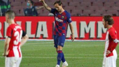 صورة برشلونة يستعيد صدارة الدوري الاسباني بفوز بشق الأنفس أمام بلباو