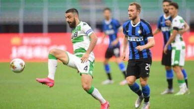 أهداف مباراة الإنتر وساسولو فى الدوري الايطالي