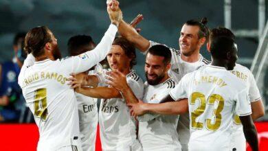 صور مباراة ريال مدريد وريال مايوركا في الدوري الاسباني - صور AFP