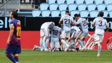 صورة برشلونة يسقط فى فخ التعادل أمام سلتا فيغو فى الدوري الاسباني