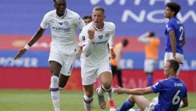 صورة تشيلسي يُقصي ليستر سيتي من كأس الاتحاد الانجليزي ويتأهل الى الدور نصف النهائي